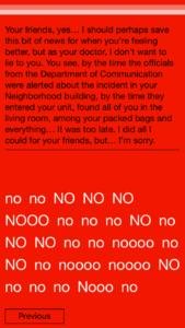 """No no no no no no"" accurately describes how I felt at certain points in the game."